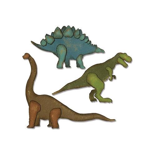 Sizzix Thinlits Dies By Tim Holtz Prehistoric