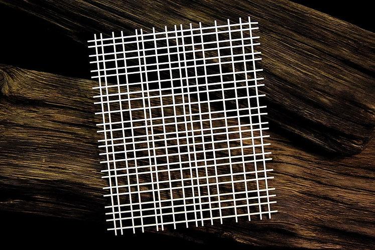 Background – Openwork chequered pattern