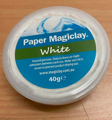 Paper Magiclay 40g white