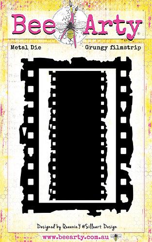 Grungy Filmstrip - Metal Die BRAND BEE ARTY
