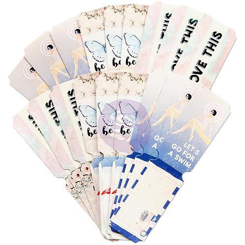 Santorini Die-Cut Paper Tickets 36/Pkg