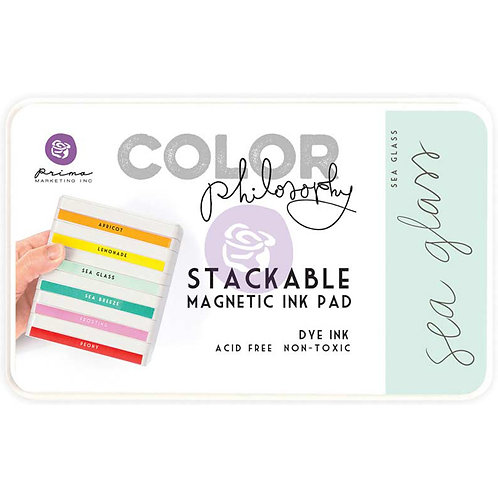 Prima Color Philosophy Dye Ink Pad-Sea Glass