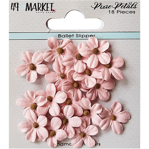 49 And Market Pixie Petals 18/Pkg Ballet Slipper