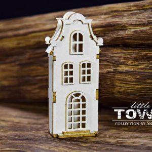 Little Town - Tenement House - 9 Snip Art