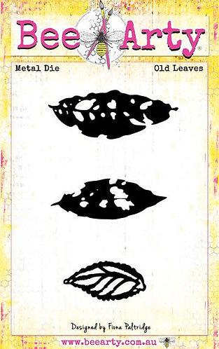 Old Leaves - Metal Die BRAND BEE ARTY