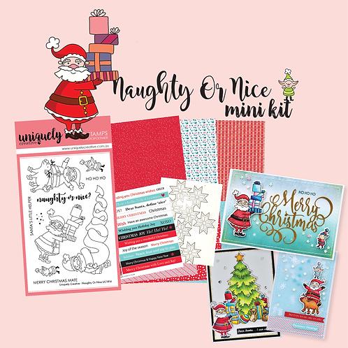 The Naughty or Nice Mini Kit