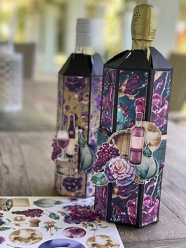 Wine Bottle Holder Class