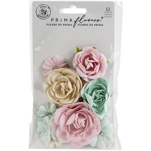 Prima Marketing Mulberry Paper Flowers