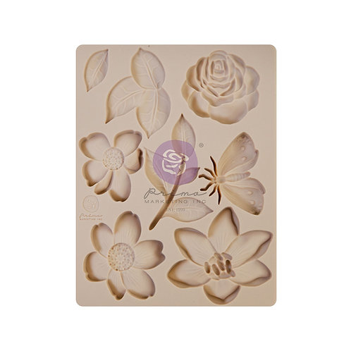 WATERCOLOR FLORAL COLLECTION SILICONE MOULD – 1 PC, 3.5×4.5 IN