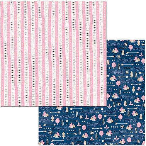 """Little Wonders Double-Sided Cardstock 12""""X12"""" - Sophia"""