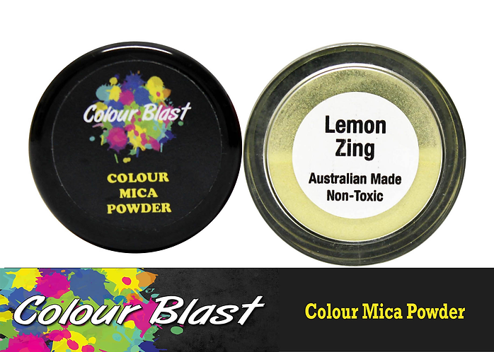 Mica Powder - Lemon Zing            COLOUR BLAST