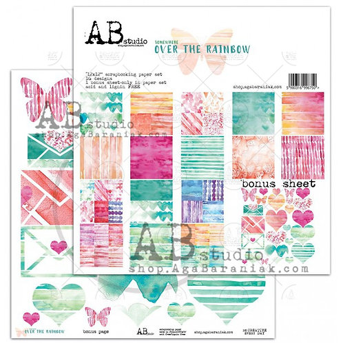 """Over the Rainbow"" Paper Pack AB Studio"