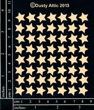 Chipboard - mini stars