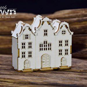 Little Town - Tenement House - 10 Snip Art