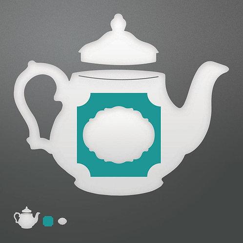 Die - Enchanted Tea Party - Invitation set (4pc)