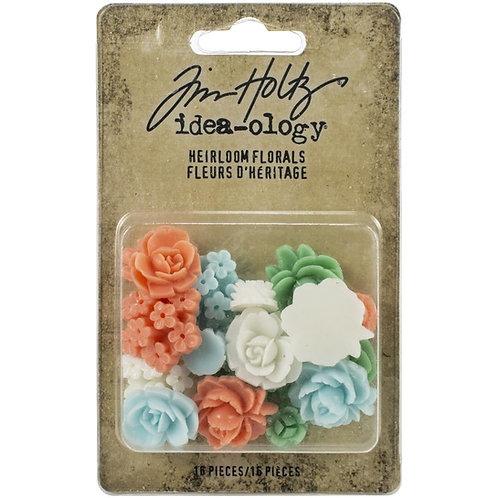 Idea-Ology Heirloom Florals 16/Pkg