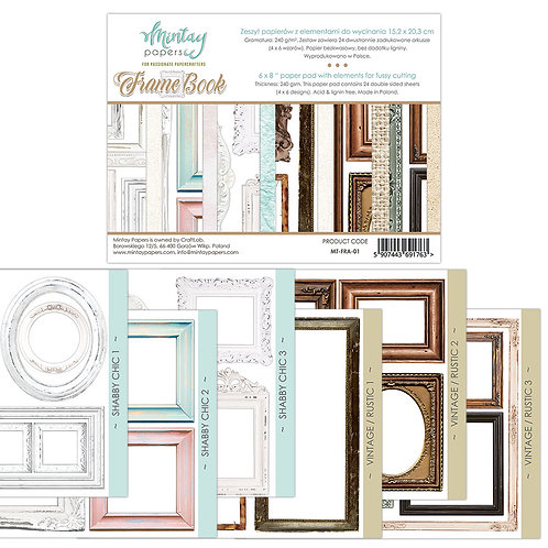 "Frame Book Mintay 6"" x 8"" paper pad"