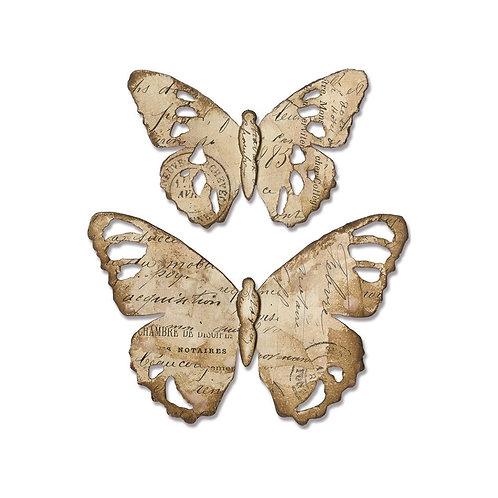 Sizzix Bigz Die By Tim Holtz Tattered Butterfly