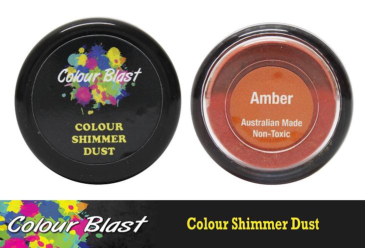 Colour Shimmer Dust - Amber   COLOUR BLAST