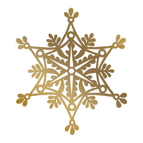 Hotfoil Stamp - AG - Snowflake