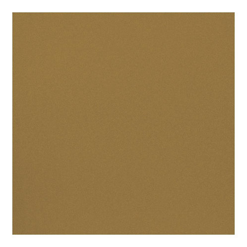 """American Crafts POW Glitter Paper 12""""X12"""" - Solid Gold"""