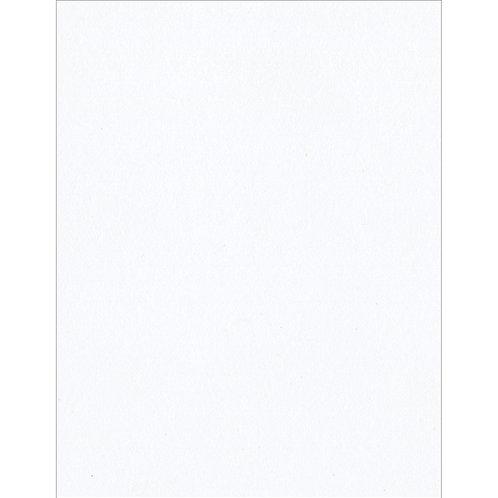 "Bazzill Card Shoppe Heavyweight Cardstock 8.5""X11""-Marshmallow"