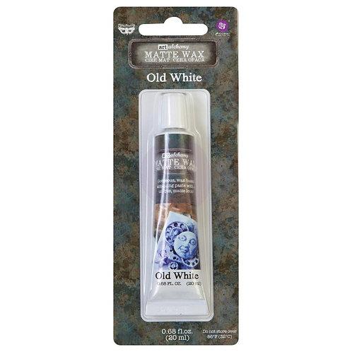 Finnabair Art Alchemy Matte Wax .68 oz - Old White
