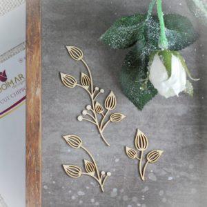Floral elements set 001