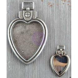 Prima Marketing-Finnabair Mechanicals Metal Embellishments: Heart Locket Pendant