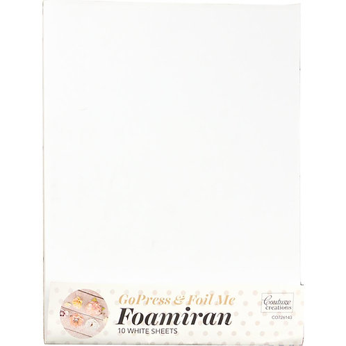 Couture Creations Foamiran Flower Making Sheets 10/Pkg