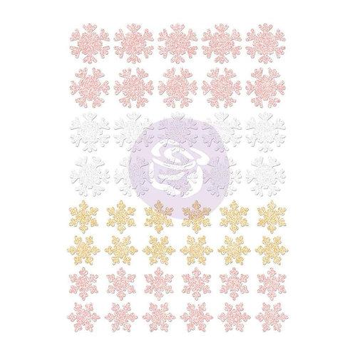 Santa Baby Snowflakes Stickers
