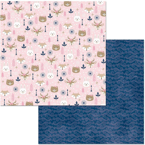 "Little Wonders Double-Sided Cardstock 12""X12"" - Olivia"
