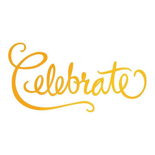 Hotfoil Stamp - SE - Celebrate (1pc)