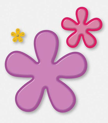 Die - ST - Retro Flowers