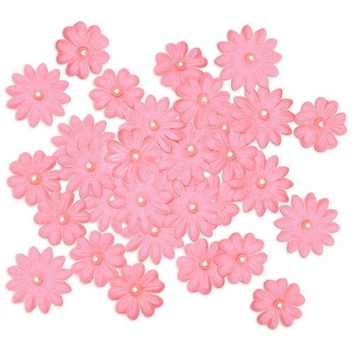 Multicraft Handmade Paper Flowers 32/Pkg Pink