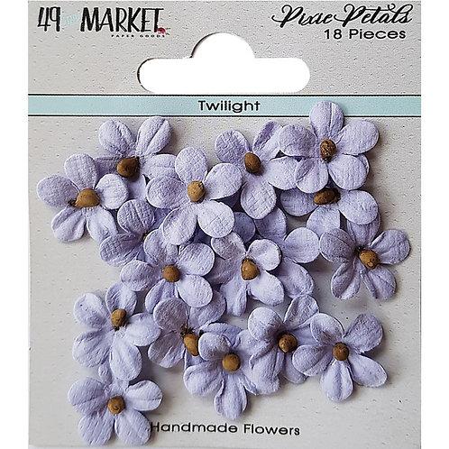 49 And Market Pixie Petals 18/Pkg Twilight