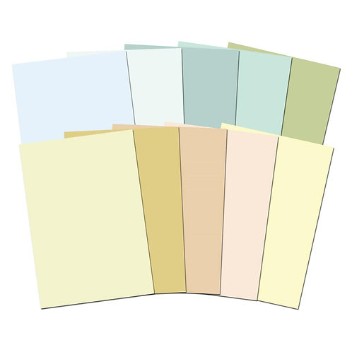 Hunkydory Adorable Scorable A4 Cardstock Pack 10/Pkg