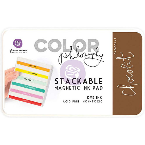 Prima Color Philosophy Dye Ink Pad-Chocolat