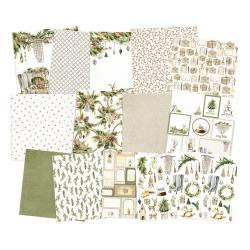 """P13 Double-Sided Paper Pad 12""""X12"""" 12/Pkg Cosy Winter"""