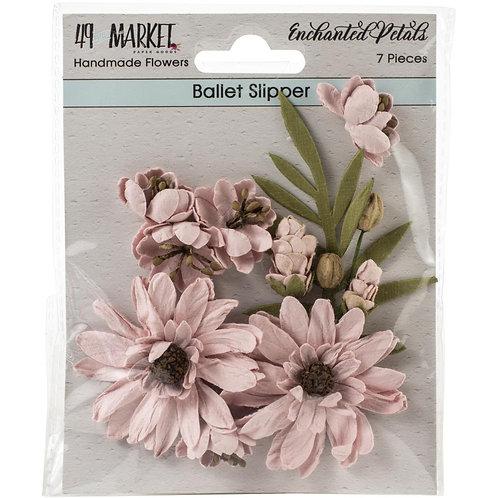 49 And Market Enchanted Petals 7/Pkg Ballet Slipper