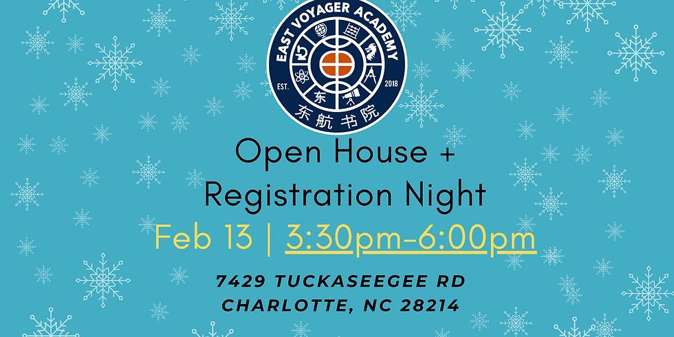 Open House + Registration