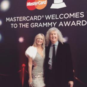 At the Pre-Grammy celebration in LA