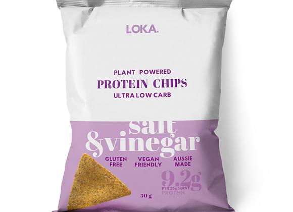 Salt & Vinegar Protein Chips 50g