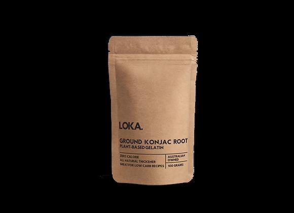 Konjac Root - Plant Based Gelatine