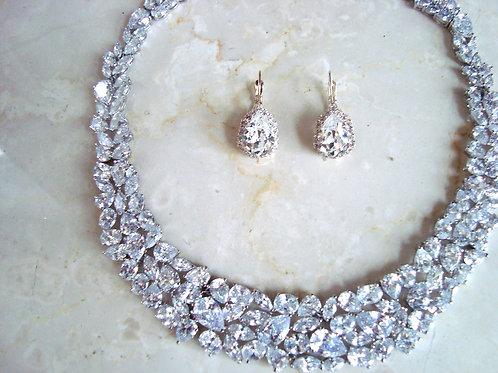 Silver Freesia Earring