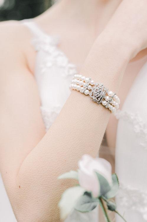 Three Row Freshwater Bracelet