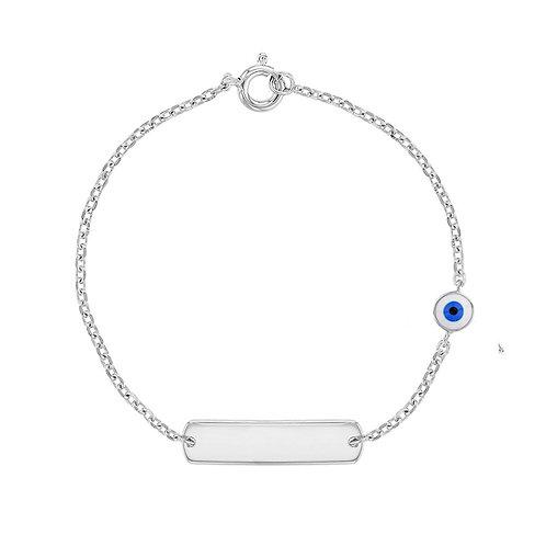 EvilEye Silver Bracelet