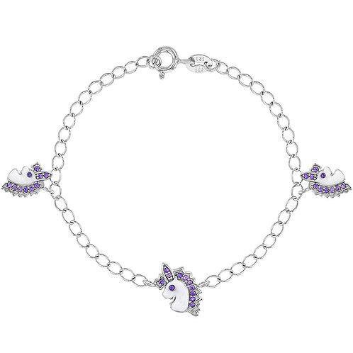Purple Unicorn Bracelet