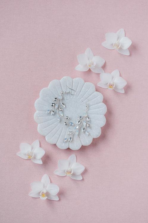 Crystal Vine Earrings