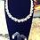 Thumbnail: The Diamond SnowFlake Necklace Set